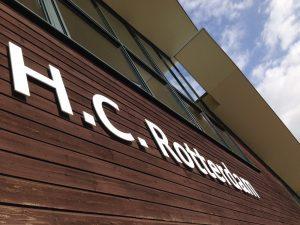 HC Rotterdam gevelletters