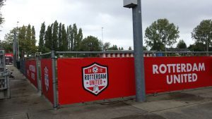 Rotterdam United Sponsorbord