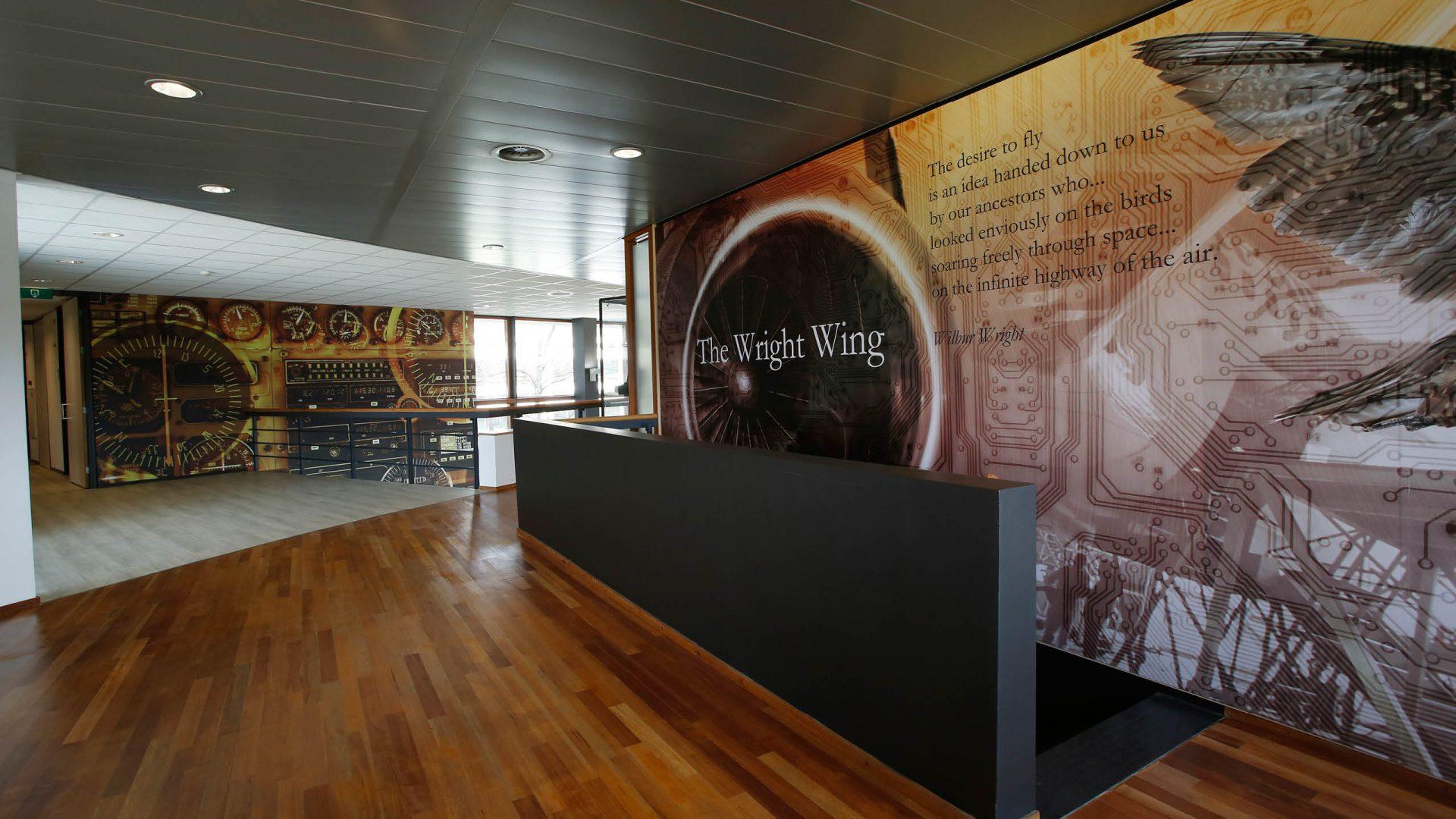 Wallcover naadloos fotobehang cubord - Decoratie kantoor ...
